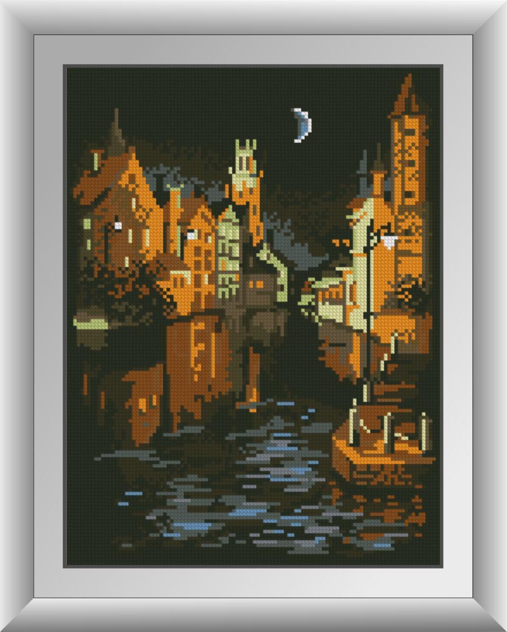 30773 Набір алмазної мозаїки Венеція в ночі