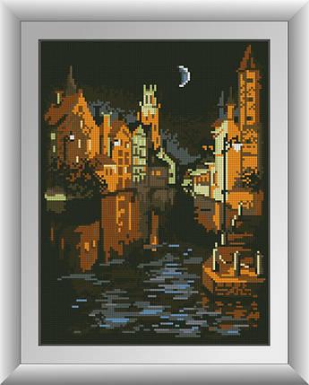 30773 Набір алмазної мозаїки Венеція в ночі, фото 2