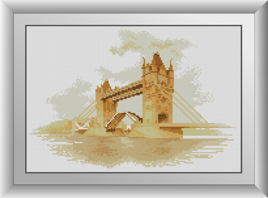 30889 Мост Набор алмазной живописи