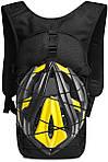 Якісний тактичний рюкзак, туристичний, велосипедний. Чорний, фото 3