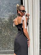 Жіноче приталене плаття завдовжки вище колін, фото 2