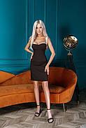 Жіноче приталене плаття завдовжки вище колін, фото 3