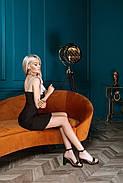Жіноче приталене плаття завдовжки вище колін, фото 4