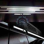 Серые молдинги (вставки) для Mercedes G сlass W463 1990-2018 гг.