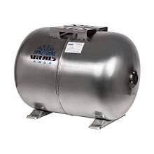 Гидроаккумулятор 50л нерж. горизонтальный Vitals aqua UTHS 50