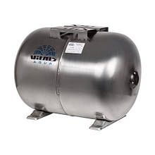 Гідроакумулятор нерж 50л горизонтальний Vitals aqua UTHS 50