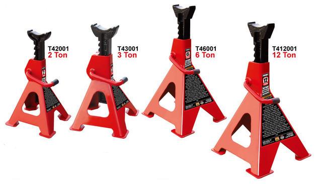 Комплект підставок під машину 12т 468-715мм 2шт. TORIN T412001