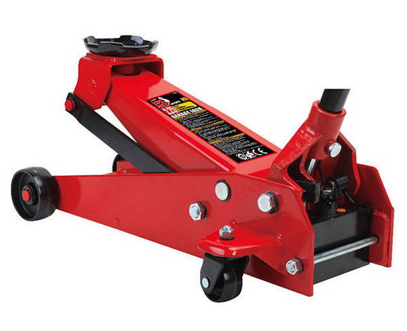 Домкрат для авто подкатной профессиональный 2,25т 140-520 мм TORIN T82257, фото 2