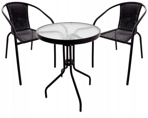 Cадові меблі Jumi Bistro Black-2