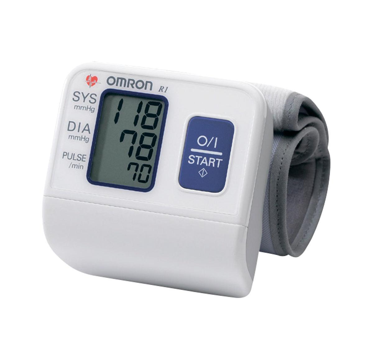 Тонометр автоматический с манжетой на запястье OMRON R1