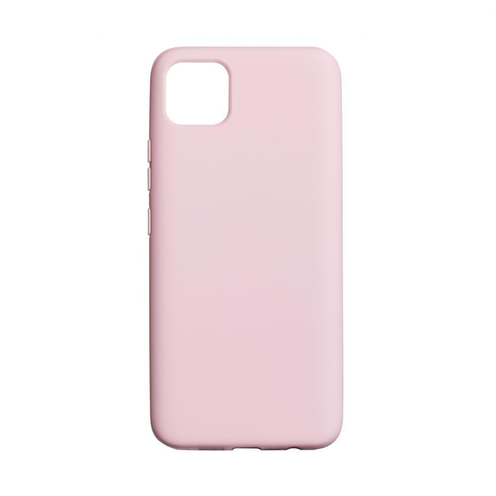Чехол для  Realme C11 Розовый / Бампер реалми c11