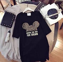 Сукня футболка жіноча міккі маус універсал 42-46