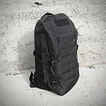 Черный Тактический, походный рюкзак Military. 20 L., милитари, армейский.  / T0453, фото 7