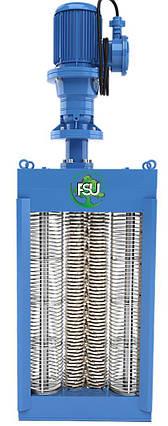 Канализационные решетки-дробилки с двумя барабанами для установки в канале до 5500 м3/час типа FSU, фото 2