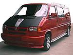 Губа на решітку (під фарбування) для Volkswagen Transporter T4