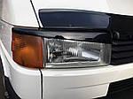 Вії Прямий капот (2 шт) Чорний глянець для Volkswagen Transporter T4