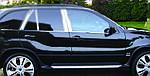 Нижние стальные молдинги (нерж.) Carmos - Турецкая сталь для BMW X5 E-70 2007-2013 гг.