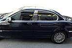 Накладки на стойки (нерж) для Jaguar X-Type