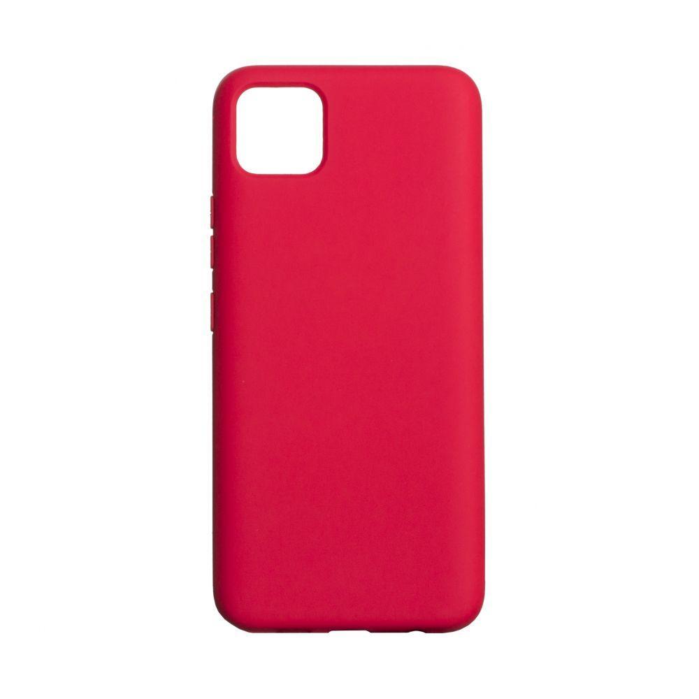 Чохол для  Realme C11 червоний / Бампер реалми c11