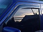 Вітровики (2 шт, DDU-Sunflex) Чорний глянець для Volkswagen Transporter T4