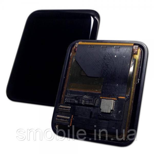 Дисплей Apple Watch 1-го поколения 42 мм с сенсором, черный (оригинал)