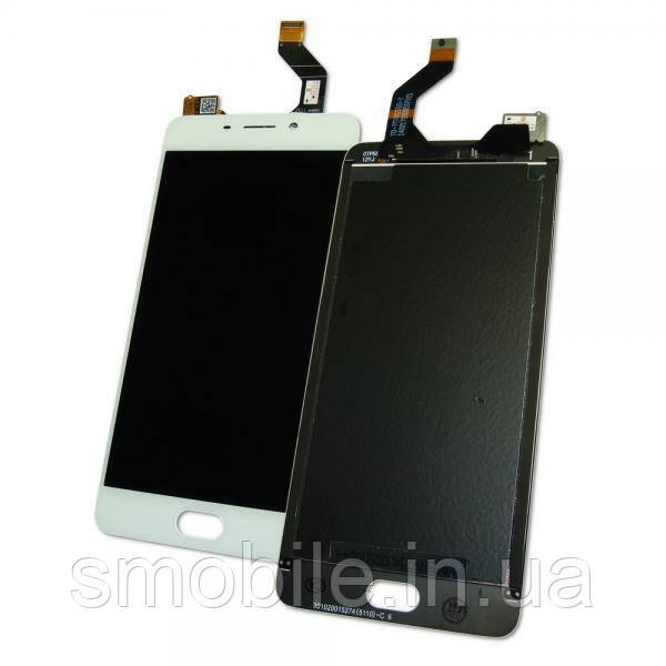 Дисплей Meizu M6 Note M721L с сенсором, белый (оригинал Китай)