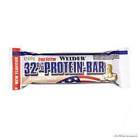 Weider 32% Protein bar 24 батончика по 60 грамм Белково-углеводный батончик