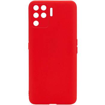 Силиконовый чехол Candy Full Camera для Oppo A94 Красный / Red