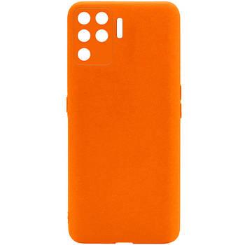 Силиконовый чехол Candy Full Camera для Oppo A94 Оранжевый / Orange