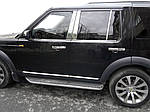 Окантовка вікон (4 шт., нерж.) для Land Rover Discovery IV