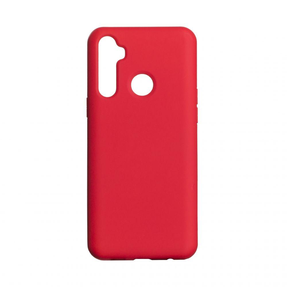 Чехол для  Realme 5 Красный / Бампер реалми 5