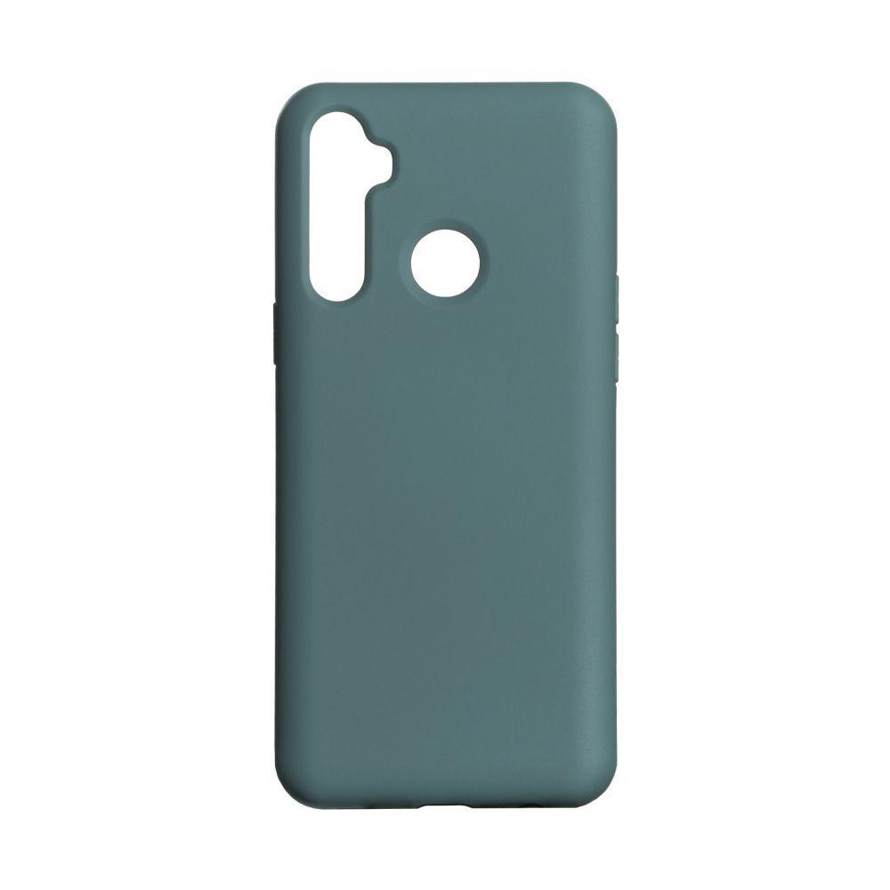 Чехол для  Realme С3 Темно-зеленый / Бампер реалми c3