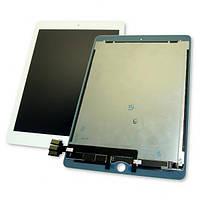 """Дисплей iPad Pro 9.7"""" с сенсором и шлейфом на плату, белый (оригинальные комплектующие), фото 1"""