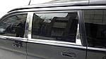 Молдинг дверних стійок (нерж) для Honda HR-V 1998-2006 рр.