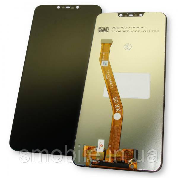 Huawei Дисплей Huawei P Smart Plus Nova 3i + сенсор чорний (копія ААА)