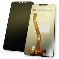 Huawei Дисплей Huawei P Smart Plus Nova 3i + сенсор чорний (копія ААА), фото 1