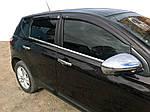 Наружная окантовка (4 шт, нерж) Обычная база, OmsaLine - Итальянская нержавейка для Nissan Qashqai 2010-2014