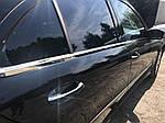 Зовнішня окантовка вікон (4 шт, нерж) OmsaLine - Італійська нержавійка для Mercedes E-сlass W211 2002-2009 рр.