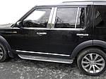 Окантовка вікон (4 шт., нерж.) для Land Rover Discovery III