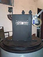 Котел твердотопливный длительного горения SHTORM,  30kWt (от 100 до 200 кв)