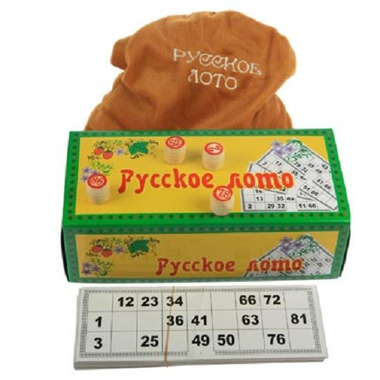 Игра Лото русское