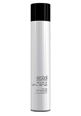 ESTEL always ON-LINE Лак для волос ультрасильная фиксация 400 мл.