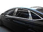 Молдинг дверних стійок (нерж) для Ford Mondeo 2014-2019 рр.