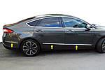 Молдинг дверний (6 шт, нерж) для Ford Mondeo 2014-2019 рр.