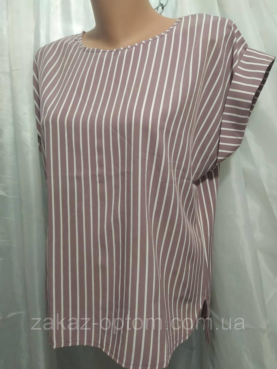 Блуза женская софт (48-54) Украина оптом-74616