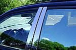 Накладки на дверные стойки (нерж) для BMW X3 F-25 2011-2018 гг.