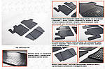 Резиновые коврики (3 шт, Stingray) для Mercedes Vito W639 2004-2015 гг.