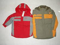 Куртка утепленная красная рост 122