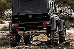 Защита заднего бампера для Mercedes G сlass W463 1990-2018 гг.