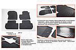 Резиновые коврики (4 шт, Stingray Premium) для Mitsubishi Outlander 2006-2012 гг.